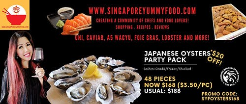 Singapore Yummy Food | 48 Oysters for $168